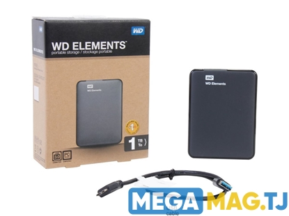 Изображение Внешний HDD WD Elements 1TB