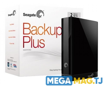 Изображение Seagate Backup Plus 2TB