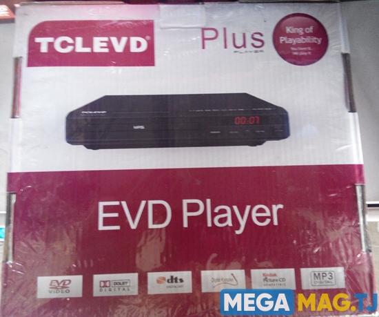 Изображение DVD проигрыватель TCLEVD