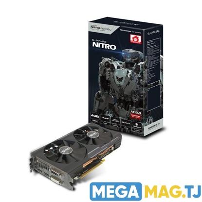 Изображение Видеокарта SAPPHIRE NITRO Radeon™ R9 380 4G D5
