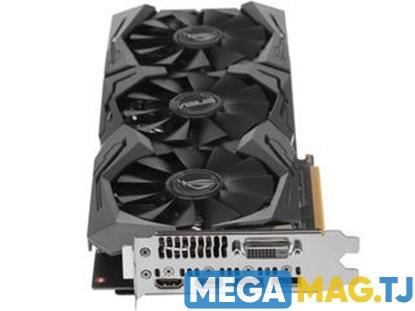 Изображение Видеокарта ASUS AMD Radeon RX 480 STRIX OC [STRIX-RX480-O8G-GAMING]