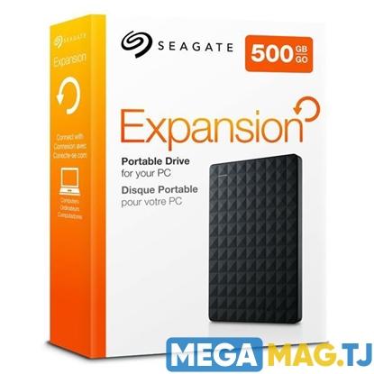 """Изображение Внешний жесткий диск 2.5"""" Seagate Expansion 500GB"""