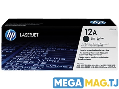 Изображение Картридж лазерный HP 12A (Q2612A)