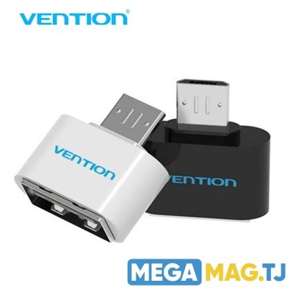 Изображение Переходник OTG MicroUSB to USB  Vention
