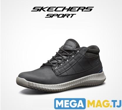 Изображение Мужская обувь Skechers, средней высоты на плоской подошве