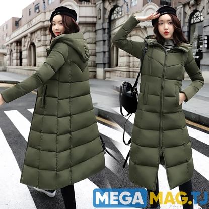 Изображение Утепленная зимняя куртка