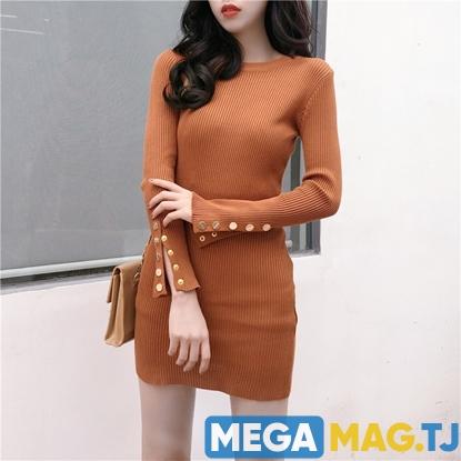 Изображение Трикотажное платье