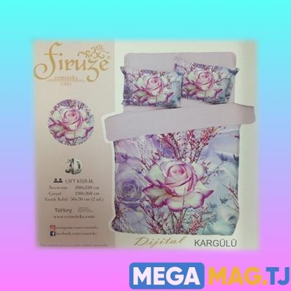 Изображение Комплект постельного белья Firuze 3D Kargulu