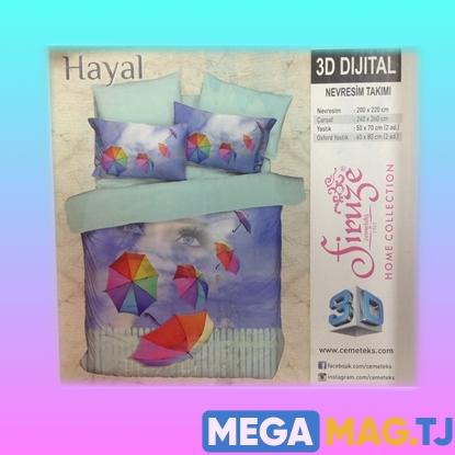 Изображение Комплект постельного белья Firuze 3D Hayal
