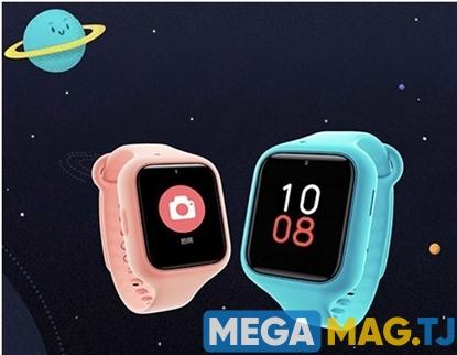 Изображение Детские часы Xiaomi Child Wristwatch с поддержкой SIM-карт