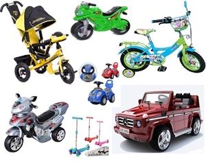 Изображение для категории Детский транспорт