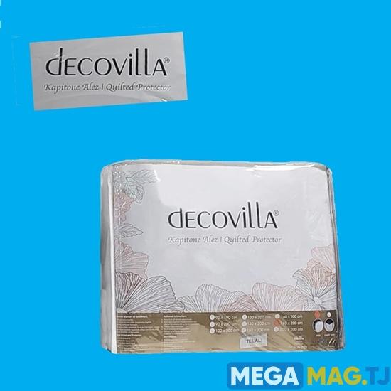 Изображение Наматрасник Decovilla  водонепроницаемый силиконизированный