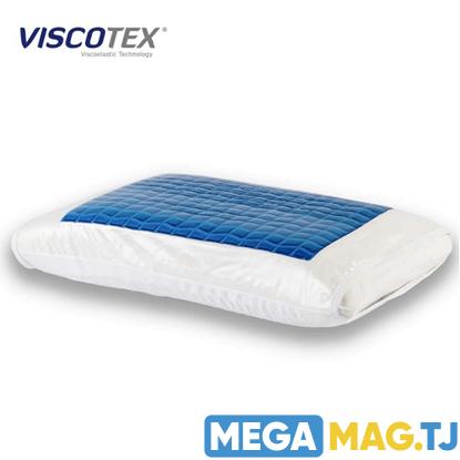 Изображение Двухсторонняя охлаждающая гелевая подушка Viscotex с эффектом памяти
