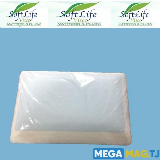 Изображение Подушки Softlife с эффектом памяти и охлаждающим гелем