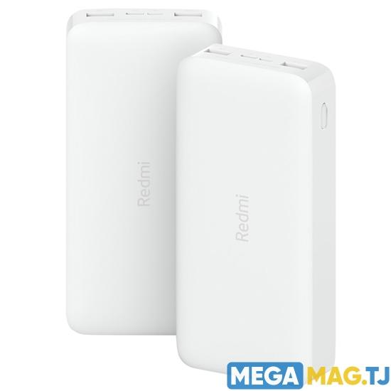 Изображение Аккумулятор Xiaomi Redmi Power Bank Fast Charge 20000