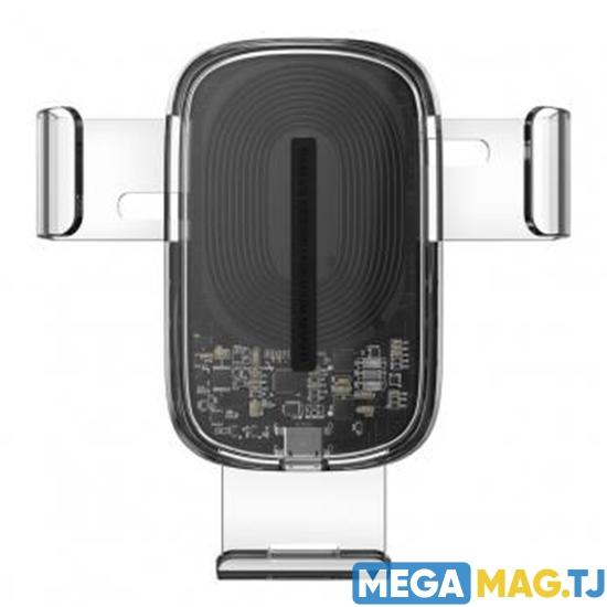 Изображение Автодержатель с функцией беспроводной зарядки Baseus Explore Wireless Charger Gravity Car Mount