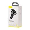 Изображение FM-трансмиттер Baseus T typed S-13 Wireless MP3 Car charger (PPS Quick Charger-EU) 2USB + Type-C