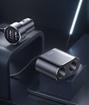 Изображение Автомобильное зарядное устройство с разветвителем 2xUSB Baseus High Efficiency One To Two (CRDYQ-01)