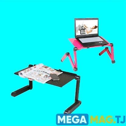 Изображение Столик трансформер для ноутбука с добавочной длиной